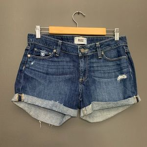Paige Jimmy Jimmy Short Cuffed Rolled Shorts